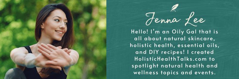 holistic health talks jenna lee author box