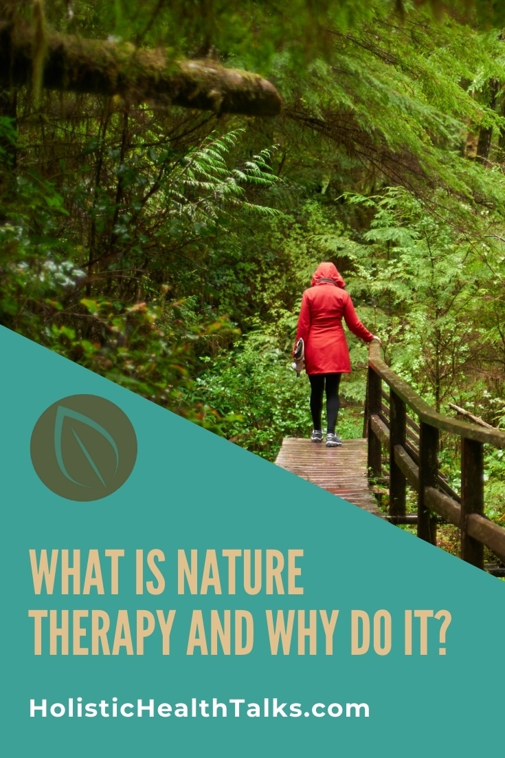 what is forest bathing aka nature therapy